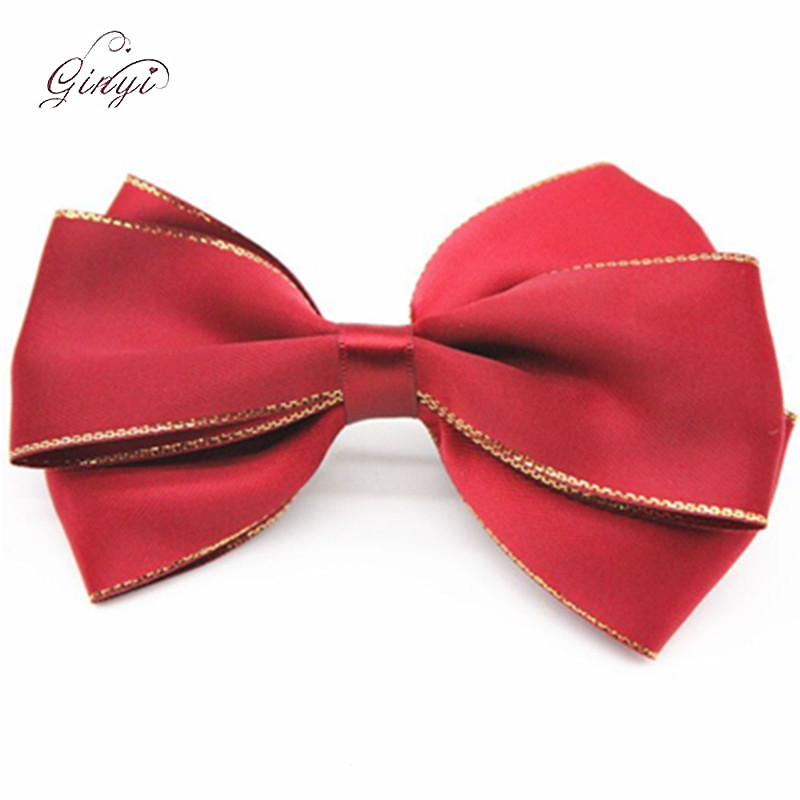 Bulk on Sacle Satin Ribbon Hair Bow Alligator Hair Clips GYHB-5003
